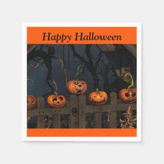 Kürbis-KinderParty-Papierserviette Halloweens Papierservietten