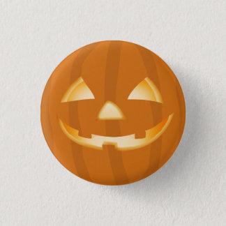 Kürbis-Laternen-Halloween-Spaß-Knopf-Abzeichen Runder Button 2,5 Cm