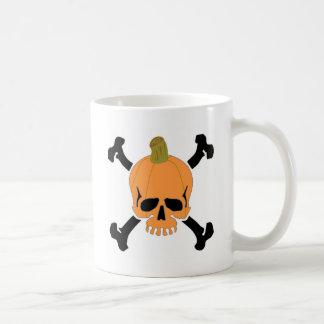 Kürbis-Schädel Kaffeetasse