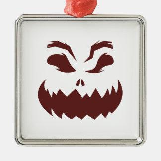 Kürbis Silbernes Ornament