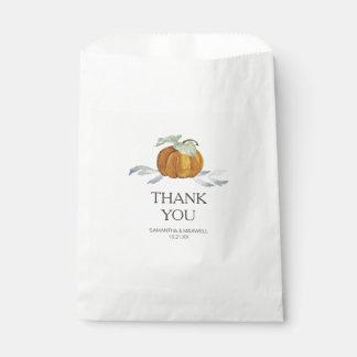 Kürbis-Süßigkeits-Bevorzugungs-Taschen Geschenktütchen