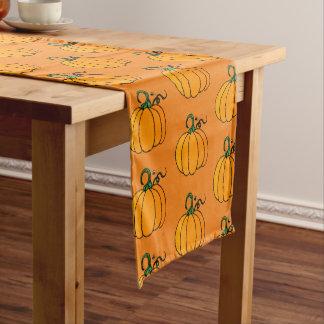 Kürbis-Tabellen-Läufer Kurzer Tischläufer