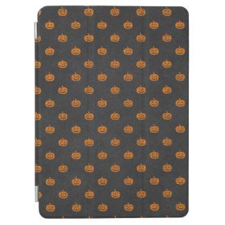 Kürbis-Tafel-Muster Halloweens orange iPad Air Hülle