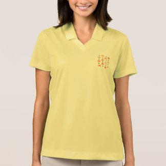Kürbise mit das Polo-T - Shirt der Blätter-Frauen