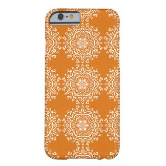 Kürbiskuchen-Mandala Barely There iPhone 6 Hülle