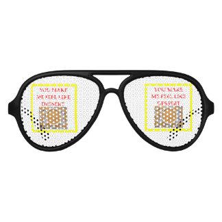 Kürbiskuchen Partybrille