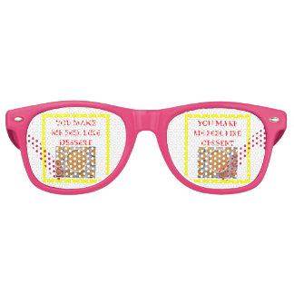 Kürbiskuchen Sonnenbrille