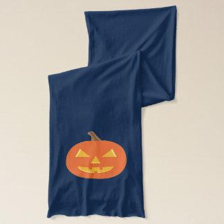 Kürbislaterne Halloween Schal