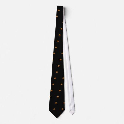 Kürbislaterne Individuelle Krawatte