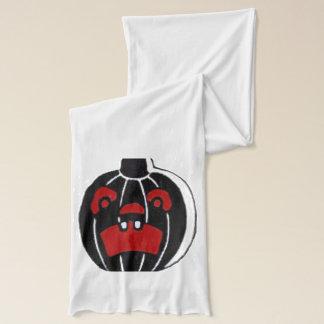 Kürbislaterne-Kürbis Halloween Schal