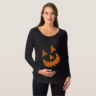 Kürbislaternemutterschafts-Shirt Schwangerschafts T-Shirt