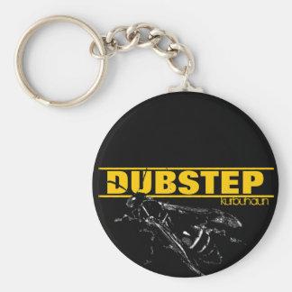Kurbuhaun Dubstep Logo Standard Runder Schlüsselanhänger