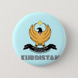 Kurde Emblem Runder Button 5,1 Cm