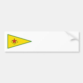 Kurdische Freiheits-Kämpfer Autoaufkleber
