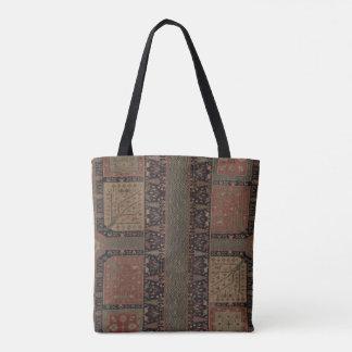 Kurdische Garten-Teppich-Tasche Tasche