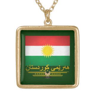 """""""Kurdischer Stolz 2"""" Halskette Mit Quadratischem Anhänger"""