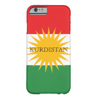 Kurdistan Barely There iPhone 6 Hülle