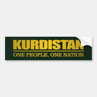 Kurdistan (eine Leute, eine Nation) Autoaufkleber