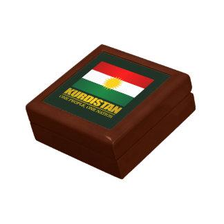 Kurdistan (eine Leute, eine Nation) Kleine Quadratische Schatulle