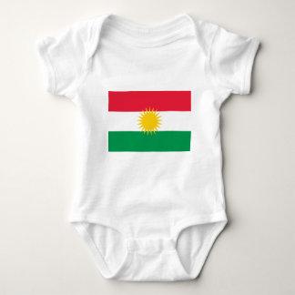 Kurdistan-Flagge Babybody