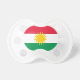 Kurdistan-Flagge Baby Schnuller