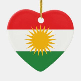 Kurdistan-Flagge Weinachtsornamente
