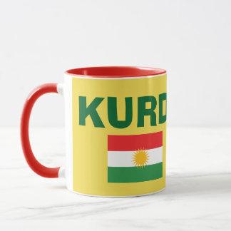 Kurdistan-Flaggen-Kaffee-Tasse Tasse