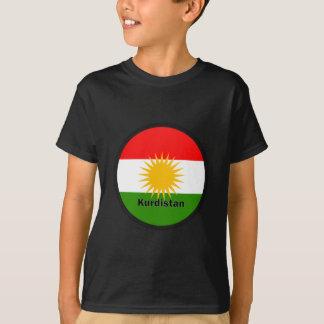 Kurdistan Roundel Qualität Flagge T-Shirt