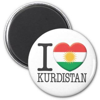 Kurdistan Runder Magnet 5,7 Cm
