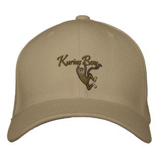 Kurius Jungen-Logo-Baseballmütze Bestickte Baseballmütze