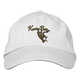 Kurius Jungen-Logo-Creme-Gesichts-Stickerei-Hut Bestickte Mützen