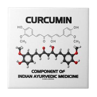 Kurkumin-Komponente von Inder Ayurvedic Medizin Keramikfliese