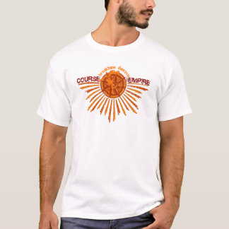 Kurs des Reich beunruhigten T-Stücks - Moos T-Shirt