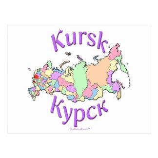 Kursk Russland Karte Postkarte