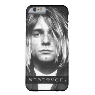 """Kurt-Kubaner """"was auch immer."""" iPhone Hülle"""