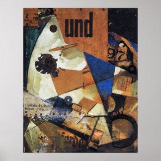 Kurt Schwitters, DAS Undbild, 1919-PRINT-SUPER SIZ Plakate