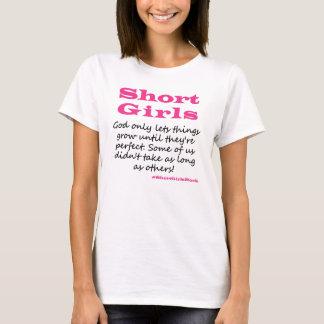 Kurzer Mädchen-T - Shirt