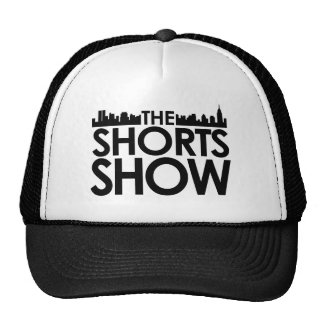 Kurzschluss-Showlogo SCHWARZ-Klassiker Trucker Caps