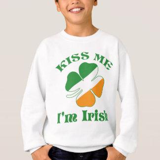 Kuss bin ich irisch sweatshirt