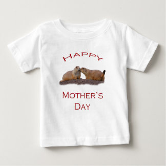Kuss der Mutter Tages Baby T-shirt
