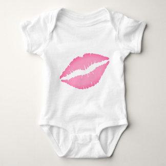 Kuss-Druck-Baby-Bodysuit Baby Strampler
