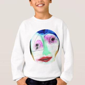 Kuss-Gesicht Sweatshirt