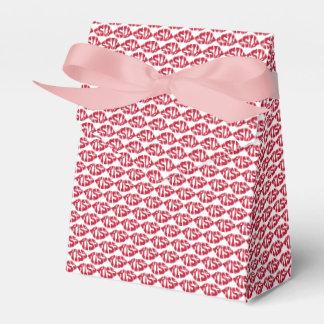 Kuss-Muster-roter Lippenbevorzugungs-Kasten Geschenkschachtel