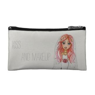 Kuss- und Make-uptasche Makeup-Tasche