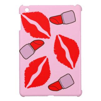 Küsse und Lippenstifte iPad Mini Hülle