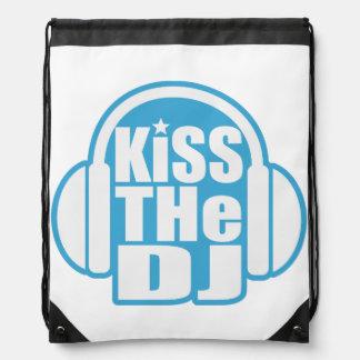 Küssen Sie das DJ Turnbeutel