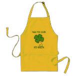 KÜSSEN Sie DEN KOCH, ich sind IRISCH! Schürze