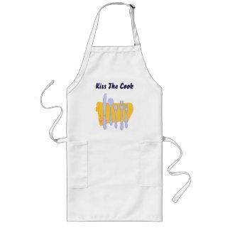 Küssen Sie die Koch-kundenspezifische Lange Schürze