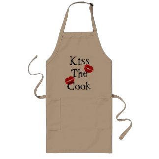 Küssen Sie die Koch-Schürze