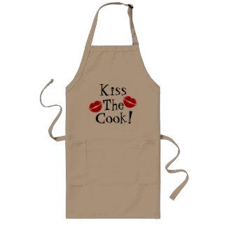 Küssen Sie die Koch-Schürze Lange Schürze